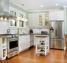 kitchen design layout ideas l shaped nice clean white chalk wooden