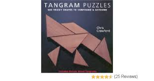 tangram puzzles tangram puzzles 500 tricky shapes to confound astound includes