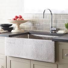 Double Sinks Sinks Hammered Nickel Kitchen Sink Hammered Nickel Starr Bath