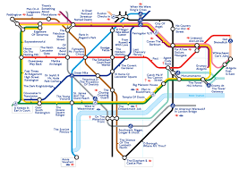 Portland Streetcar Map by The Movie Pun Map Of London