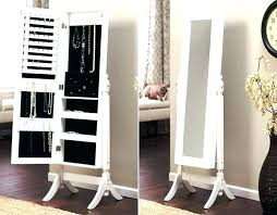 standing mirror jewelry cabinet standing mirror jewelry armoire aspt site