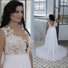 wedding dresses plus size cheap discount plus size wedding dresses a line sheer bateau neck