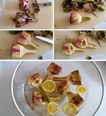comment cuisiner les artichauts comment cuisiner l artichaut fresh artichauts violets barigoule pour