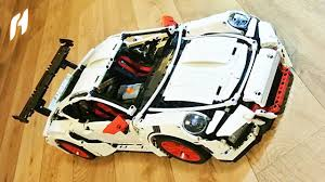 white porsche truck motorized decool 3368 porsche 911 gt3 rs white youtube