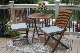 Grey Bistro Chairs Plantation Grown Eucalyptus Hardwood Furniture