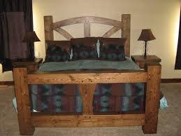 timber framed beds tamarack timber works st ignatius montana