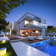 wonderful white blue wood modern design houses pool inside ideas glass and steel modern houses imanada contemporary homes dream are stylish easy on the eye i