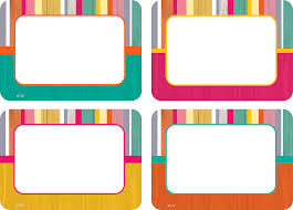 Student Desk Name Tags by Name Plates Nametags Decorative Teacher Created Resources