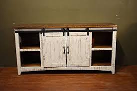 Barn Door Cabinets Diyhd 60 Wooden Cabinet Sliding Barn Door