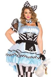 plus size alice in wonderland halloween costume plus sizes