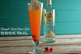 pineapple upside down cake cocktail the farmwife drinks