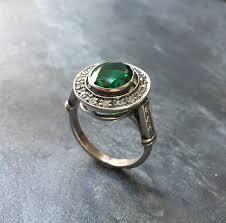 vintage sterling rings images Emerald ring antique ring vintage ring antique emerald jpg