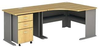 Computer Desk Oak Oak Corner Computer Desk Bush Series A 3 Piece Corner Computer