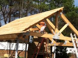 outdoor living plans glu lam beam trusses outdoor living space project fort smith ar