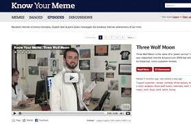 Meme Websites - know your meme 50 best websites 2009 time