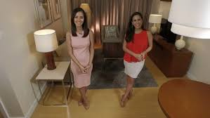 trading spaces host modern living tv features celebrity hosts bianca gonzalez and