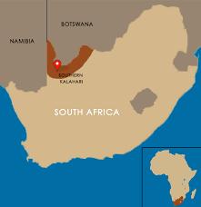 africa map kalahari southern kalahari safaris