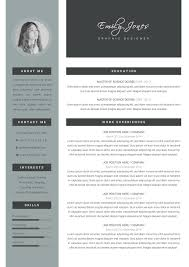 Resume Indesign Template Professional Resume Template Modern Resume Template Cv Coverletter
