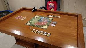 diy board game table build your own gaming table with plenty of storage your projects obn
