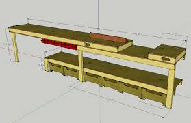 plans for garage garage workbench plans home design by larizza