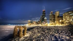 ui 245 chicago skyline winter wallpaper desktop hd awesome