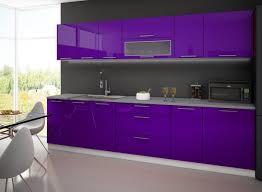 cuisine aubergine cuisine 3m laquee avec plan de travail aubergine amazon fr cuisine