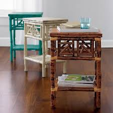 Rattan Accent Table Great Rattan Accent Table Rattan Table The Company Store