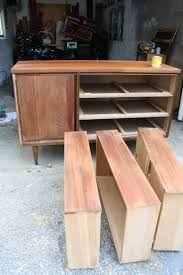 mid modern century furniture how to our refinish a mid century modern buffet merrypad