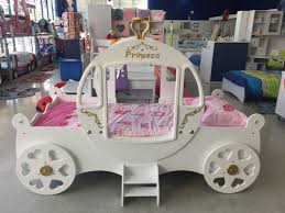 bedroom cute cinderella carriage bed for your daughter