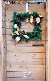B Q Christmas Window Decorations by Christmas Decorating Inspiration For Outdoor Doors And Planters