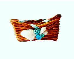 Basket For Wedding Programs Beach Wedding Decor
