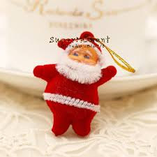 aliexpress com buy mini santa claus dolls tree hanging toys