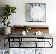 Table In Living Room Living Room Cocktail Coffee Table In Rustic Brown With Plank Shelf
