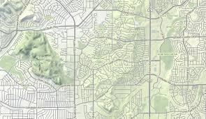 Colorado Highway Map by Terrain Process U2013 Hi Stamen