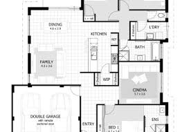 Split Floor Plan 3 Bedroom 2 Floor House Plan Celebrationexpo Org