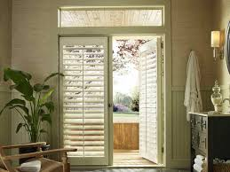 Inexpensive Window Treatments For Sliding Glass Doors - window coverings for french doors modern living room design with