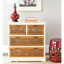 Chest Of Drawers With Wicker Drawers Wicker Bathroom Storage