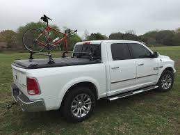 wooden truck bed bikes shuttlenutsracks softopper tailgate bike rack diy wood