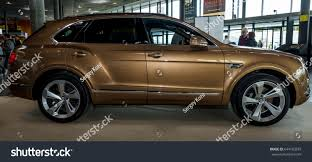 bentley suv 2017 stuttgart germany march 04 2017 large stock photo 644120293