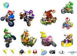 mario kart wii removable wall decorations mario kart removable mario kart wii removable wall decorations