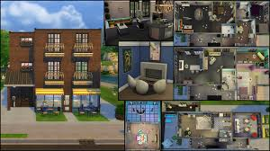 4 Unit Apartment Building Plans The Sims 4 Gallery Spotlight Simsvip