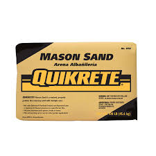 Mortar Mix For Patio Shop Quikrete 100 Lb Dry Mason Sand At Lowes Com