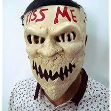 Mask Movie Halloween Costume Amazon Purge Kissme Mask 2016 Election Anarchy Movie