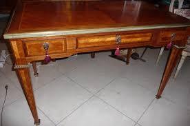bureau style louis xvi antiquités antiques le temps retrouvé mobilier céramiques