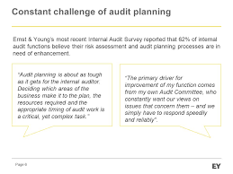 seminar developing a robust internal audit plan 30 april ppt download