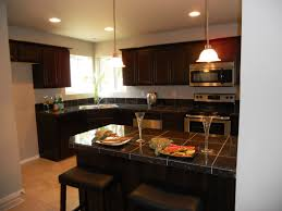 elegant modern kitchen ideas with cabinet also design island