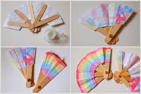 how to make fans make a folding popsicle stick fan pink stripey socks