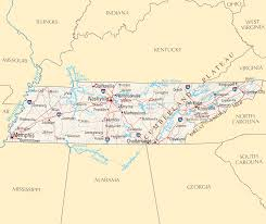 Map Of Tennessee And Georgia by Tennessee Reference Map U2022 Mapsof Net