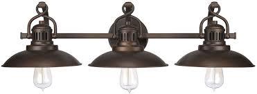 Bathroom Vanity Lighting Fixtures by Capital Lighting 3793bb Oneill Vintage Burnished Bronze 3 Light