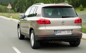 volkswagen suv 2012 2012 volkswagen tiguan first drive motor trend